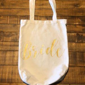 """Handbags - Canvas """"Bride"""" tote"""